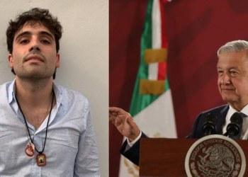 """AMLO asegura que tiene """"la conciencia tranquila"""" por liberación de Ovidio 8"""