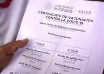 Alertan por venta de certificados falsos de vacunación Covid en CDMX 7