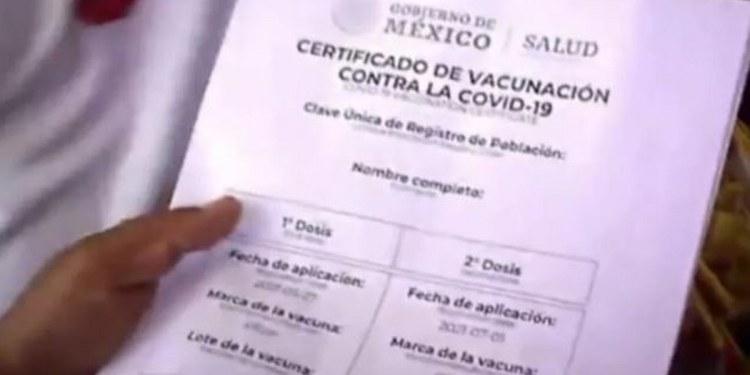 Alertan por venta de certificados falsos de vacunación Covid en CDMX 1