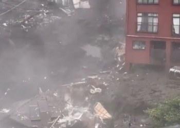 Deslizamiento de tierra en Japón deja dos muertos y 20 desaparecidos 1