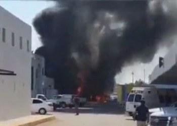 Se incendia delegación de la FGR en Culiacán, Sinaloa 5