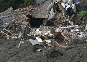 Japón activa alerta máxima por fuertes lluvias y vientos 2