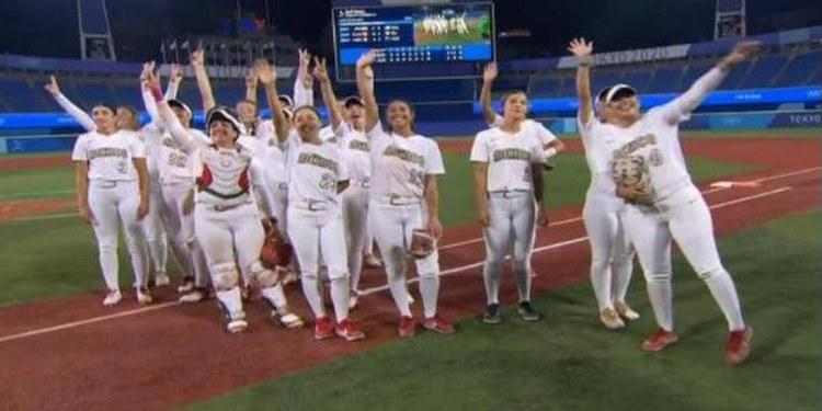Tokio 2020: México avanza hacia la medalla de bronce en softbol femenil 2