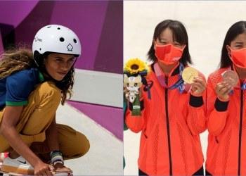 Las niñas prodigio del skateboarding en Tokio 2020; dos japonesas y una brasileña 2