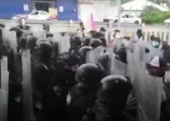 """Protestan en Chilpancingo por """"robo"""" de elección en Tlapa; FGE dice que ya investiga 5"""