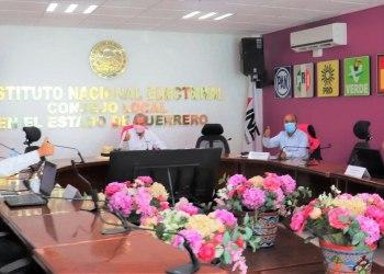 """INE """"le cumplió a Guerrero"""", se instalaron el 100% de las casillas para la consulta, informa 6"""