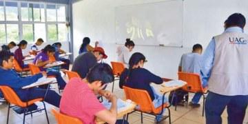 Resultados de examen de ingreso en la UAGro: nivel medio superior, superior y posgrados 7