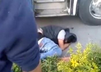 Pasajeros golpean y someten a asaltante en Jiutepec, Morelos 5