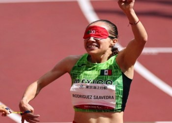 Mónica Rodríguez da a México la medalla de oro número 100 en la historia de los Paraolímpicos 2