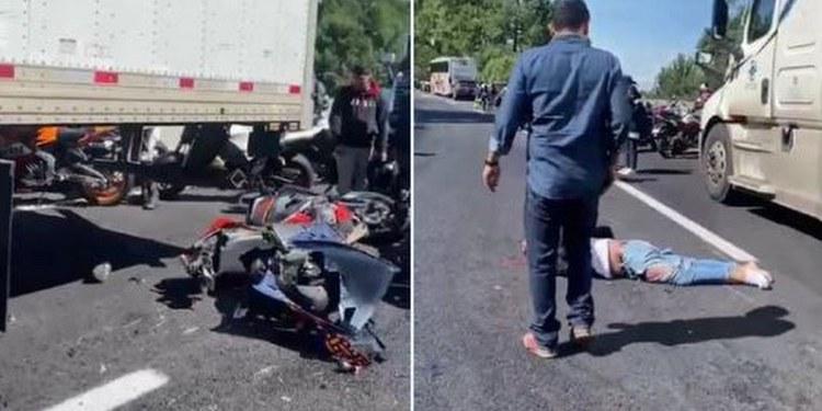 Exceso de velocidad provocó accidente de motociclistas en la México-Cuernavaca: Fiscal General 1