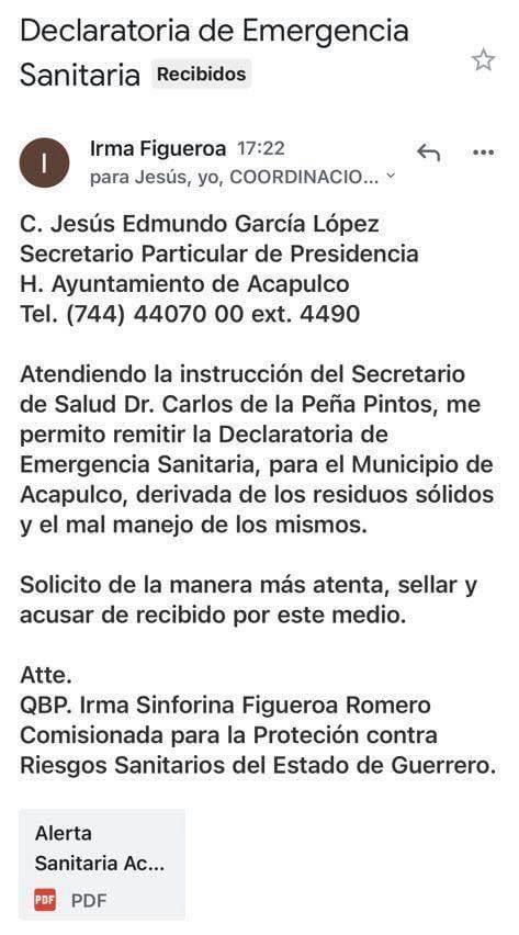 Acapulco: declaran emergencia sanitaria por montañas de basura; multan al ayuntamiento 1