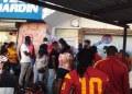 Haitianos inundan Tamaulipas; autoridades migratorias frenan marcha de 500 a EU 2