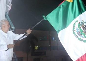Grito de Independencia aguado y de trámite da el gobernador suplente de Tabasco 4