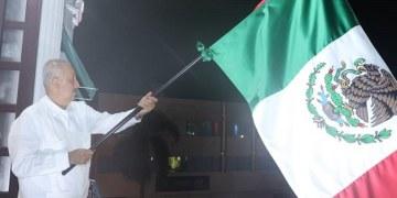 Grito de Independencia aguado y de trámite da el gobernador suplente de Tabasco 3