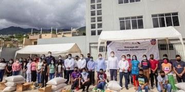 UAGro e INPI entregan paquetes de alimentos a la Casa del Universitario Indígena 3