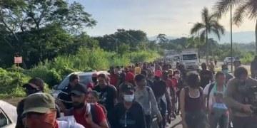 Chiapas: sale nueva caravana migrante de Tapachula rumbo a Huixtla 6