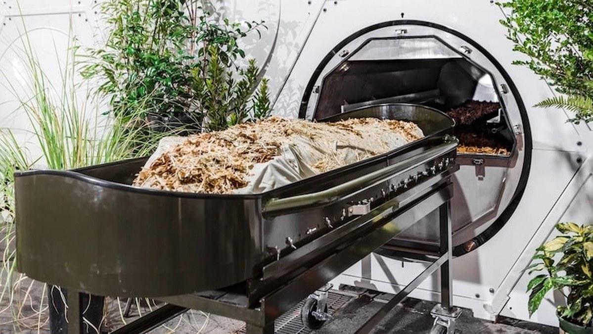 Bienvenidos a la muerte ecológica: el compostaje corporal, una alternativa al entierro y la cremación 1