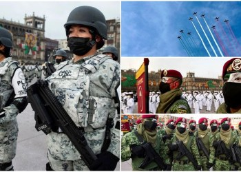 Desfile Cívico Militar por el 211 Aniversario del inicio de la Independencia de México | Fotos 5
