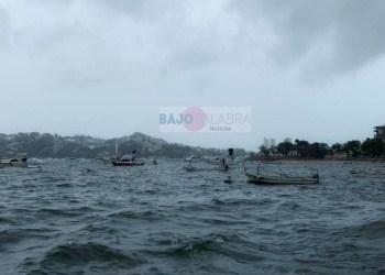 Cierran navegación en Acapulco por intensas lluvias y neblina 4