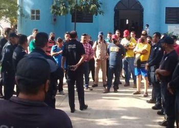 Policías de Teapa reclaman pago de retroactivo salarial y dotación completa de uniformes 4