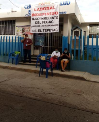 Paran atención en hospitales y centros de salud de Guerrero; exigen pago del FEGAC 3