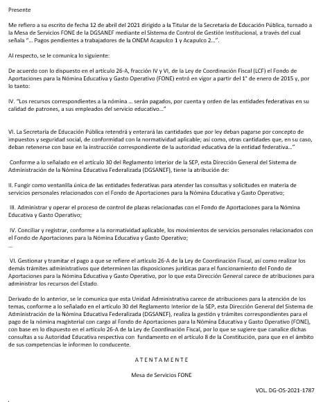 Gobierno de Guerrero también adeuda salarios a ex maestros de la ONEM 4