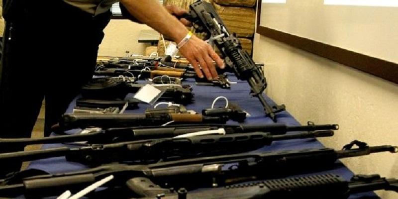 Decomisan armas y droga en operativo en NL