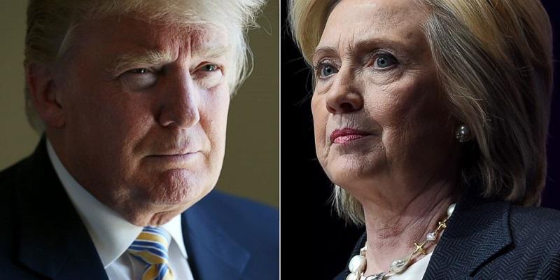 Reportan Clinton y Trump buen estado de salud
