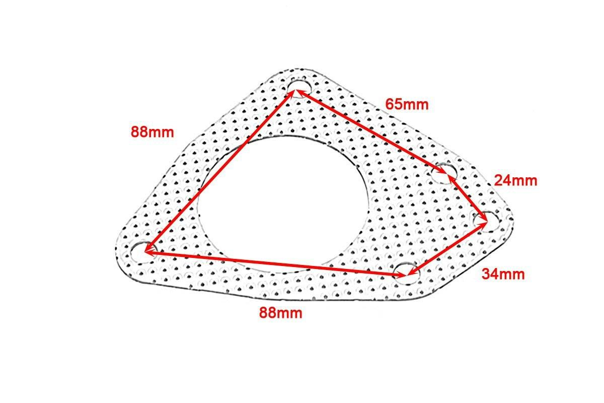 Bajpol Motosport Gt Downpipe Opel Astra H 1 9cdti 150km