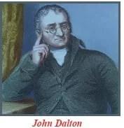scientists who developed atomic theories: John Dalton