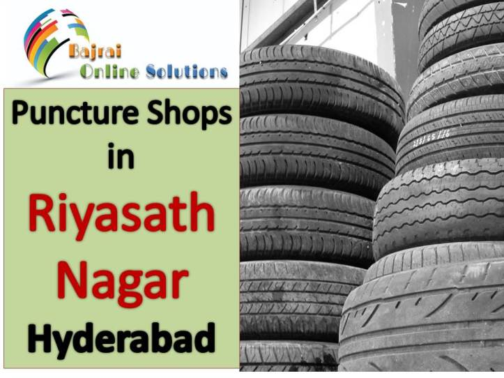 Puncture Shops near Phisal Banda, Riyasath Nagar hyderabad puncture shops