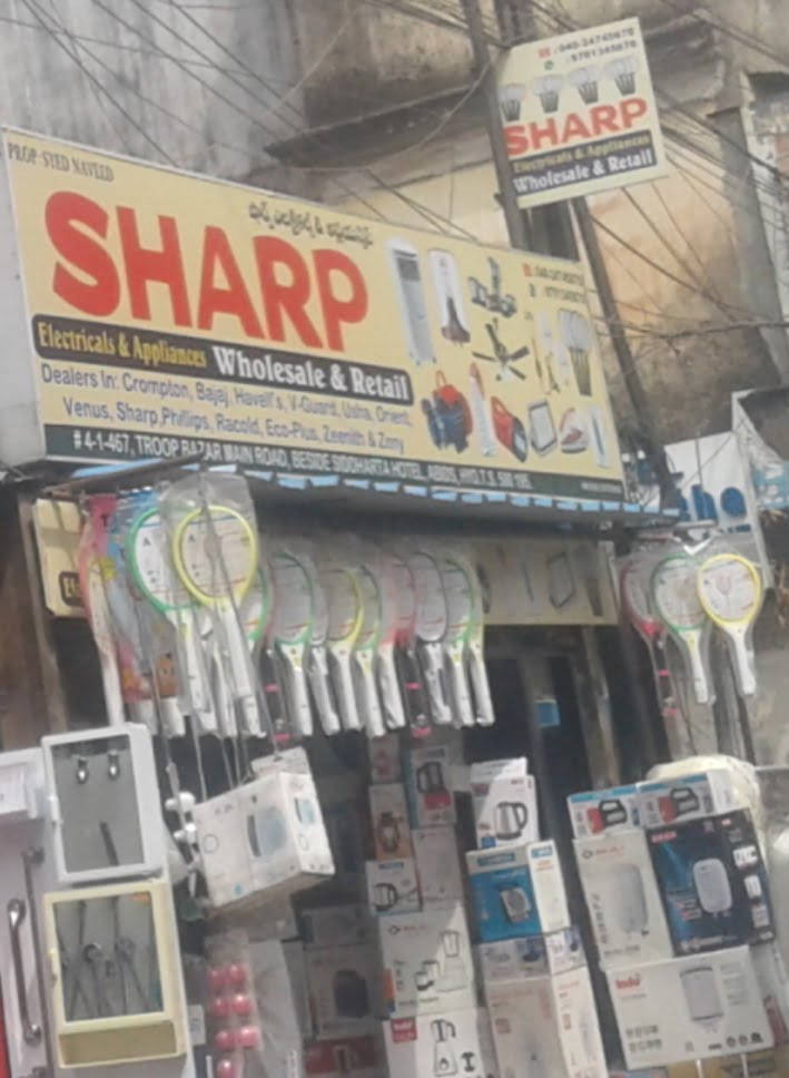 Sharp Electrical and Appliances Troop Bazar Hyderabad Electricals