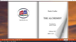 paulo coelho the alchemist download - flip book representation image 2