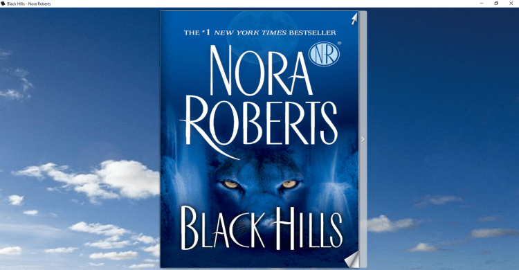 Black Hills By Nora Roberts Book - Image representation 1