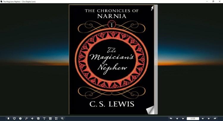 the magicians nephew pdf
