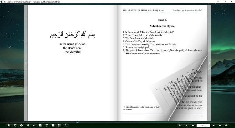 the meaning of the quran pdf
