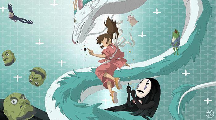 Sen to Chihiro no Kamikakushi (Spirit Away) BD Subtitle Indonesia
