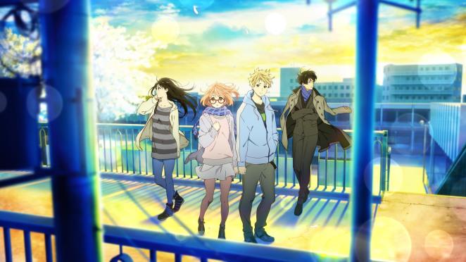 Kyoukai no Kanata Movie 2: I'll Be Here - Mirai-hen Sub Indo