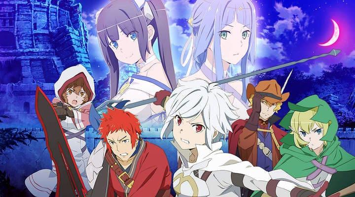 Dungeon ni Deai wo Motomeru no wa Machigatteiru Darou ka II x265 Subtitle Indonesia