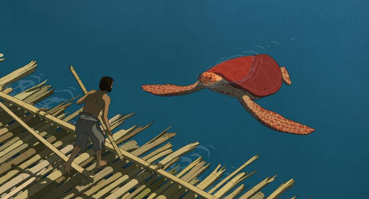 The Red Turtle (2016) BD Subtitle Indonesia