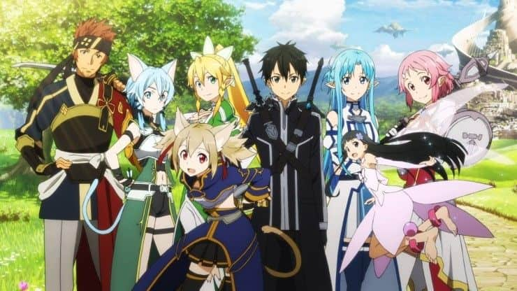 Sword Art Online Season 2 x265 Subtitle Indonesia