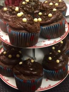 Cupcake de Chocolate Receita Fácil
