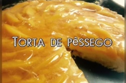 Torta de Pessego perfeita