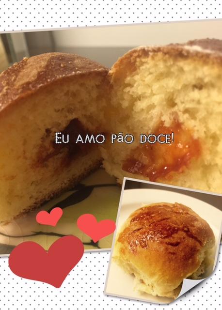 Pão Doce de Goiabada - Receita