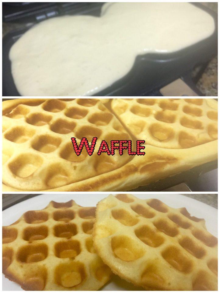 Waffle Bake and Cake