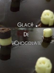 glace de chocolate