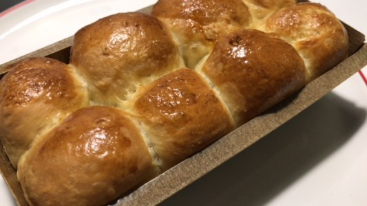 Receita de Brioche Nanterre, feito na forma de pão.