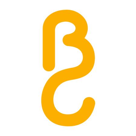 logo b c - monograma