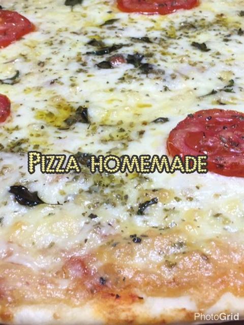 Pizza Homemade - Receita