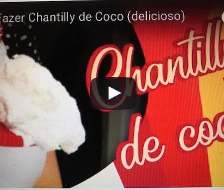 Chantilly de coco